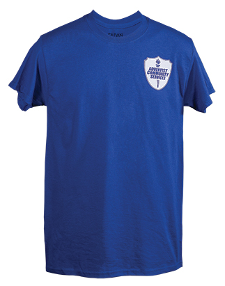Adventist Community Services T-Shirt 1 color logo