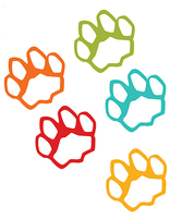 Jamii Kingdom VBS Paw Prints (10 Sets of 5 Colors)