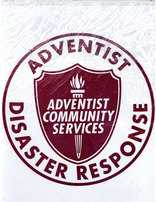 Adventist Community Services Disaster Response Plastic Bag