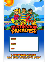 Destination Paradise VBS - Promotional Posters (set of 5)