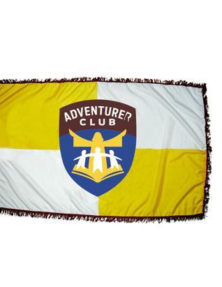 Bandera de Aventureros para Iglesia y Desfile