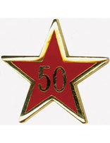 Service Star Pin - Year Fifty