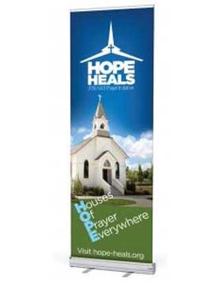 Hope Heals Prayer Ministries Banner