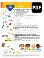 Busy Bee Spotter Award - PDF Download
