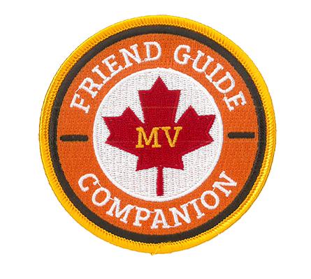 Vintage Friend Companion Guide Patch