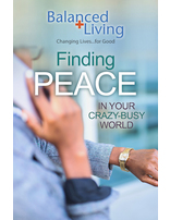 Finding Peace - Balanced Living Tract (Pack of 25)