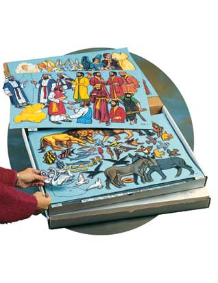 Bible Felt Filing System for One Year Set
