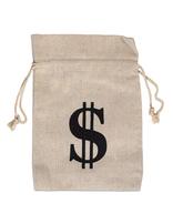 Bolsa de dinero de lona