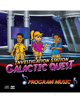 Galactic Quest VBS - Music DVD/CD