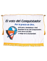 Pathfinder Pledge Banner 4-Color (Spanish)