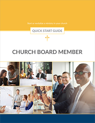 Church Board Member -- Quick Start Guide