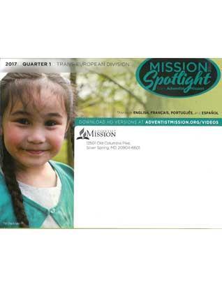 Mission Spotlight DVD 1st Qtr 2017 - Trans-European division