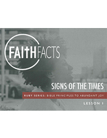 Faith Facts BSG Signs of the Times