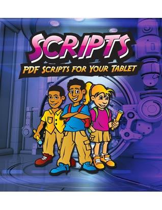Galactic Quest VBS: Scripts CD