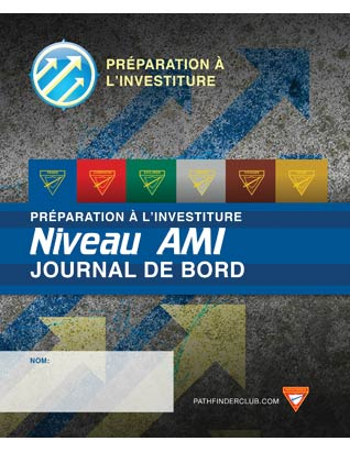 Friend Record Journal - Investiture Achievement (French)