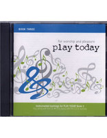 Play Today Accompaniment CD (Book III)