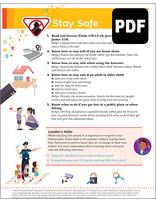 Multilevel Stay Safe Award - PDF Download