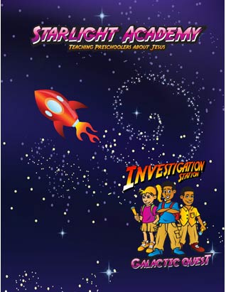 Galactic Quest VBS: Starlight Academy Guide (Preschool) English