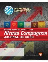 Companion Record Journal - Investiture Achievement (French)