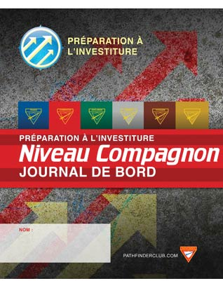 FRENCH Companion Record Journal - Investiture Achievement