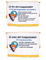 Pathfinder Pledge and Law Banners (Spanish)