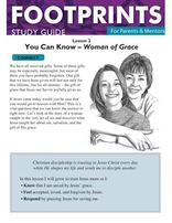 Footprints for Parents & Mentors Study Guide Lesson 2 - 10 copies