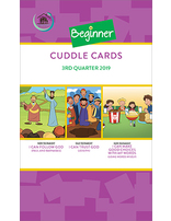 Growing Together SS Curriculum Beginner Cuddle Cards 3rd Qtr 2019