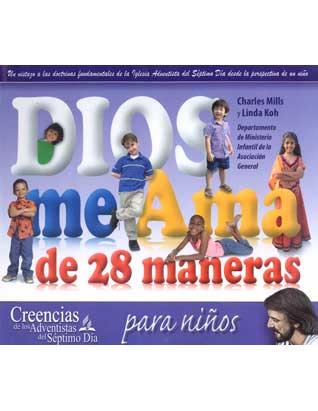 Dios me ama de 28 maneras (Spanish)