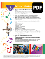 Busy Bee Music Maker Award - PDF Download