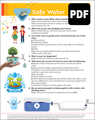 Multilevel Safe Water Award - PDF Download