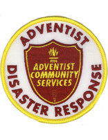 Adventist Community Services Disaster Response Patch