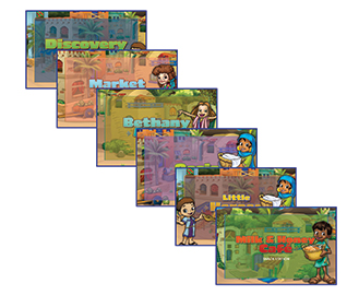 Heroes VBS Station Posters (Set of 6)