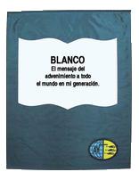 Bandera del Blanco de Jóvenes Adventistas (Español)