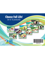 Choose Full Life - Postcard set of 10