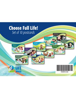 Choose Full Life Postcard Set Of 10