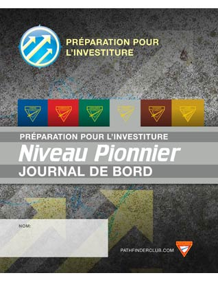 Ranger Record Journal - Investiture Achievement (French)