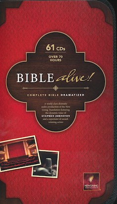 Bible Alive: Dramatized NLT CD Set