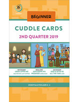 Growing Together SS Curriculum Cradle Roll Cuddle Cards 2nd Qtr 19 (5-pack) Standing Order