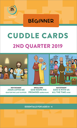 Growing Together SS Curriculum Cradle Roll Cuddle Cards 2nd Qtr 19 Standing Order