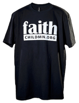 Children's Ministries Faith T-Shirt - Black