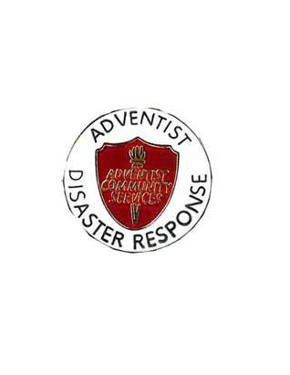 Adventist Community Services Disaster Response Identification Pin