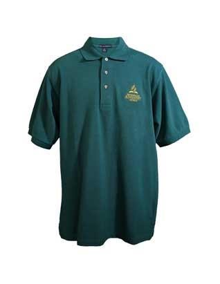 Adventist Logo Men's Polo Shirt, Forest Green
