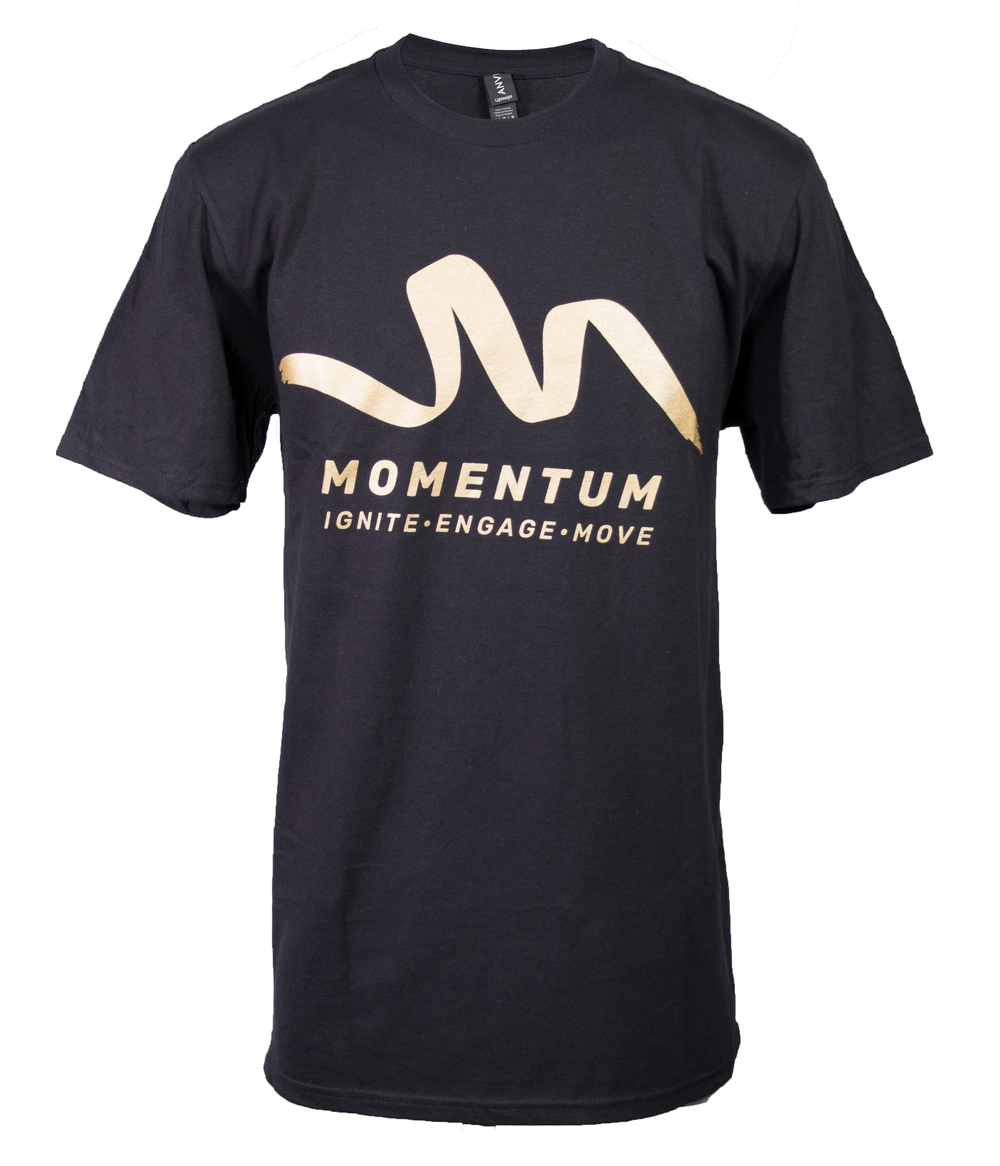 Youth Ministries Momentum Black T-Shirt