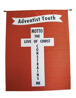 Adventist Youth Motto Banner (English)