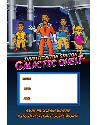 Galactic Quest VBS - Promotional Posters (set of 5)