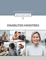 Disabilities Ministries Quick Start Guide