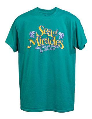 Sea of Miracles camiseta para el personal