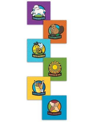 Adventurer Wall Banner Set of 6 - Spanish