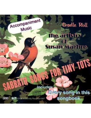 Sabbath Songs for Tiny Tots (CD)
