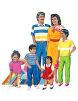 Hispanic American Family Set